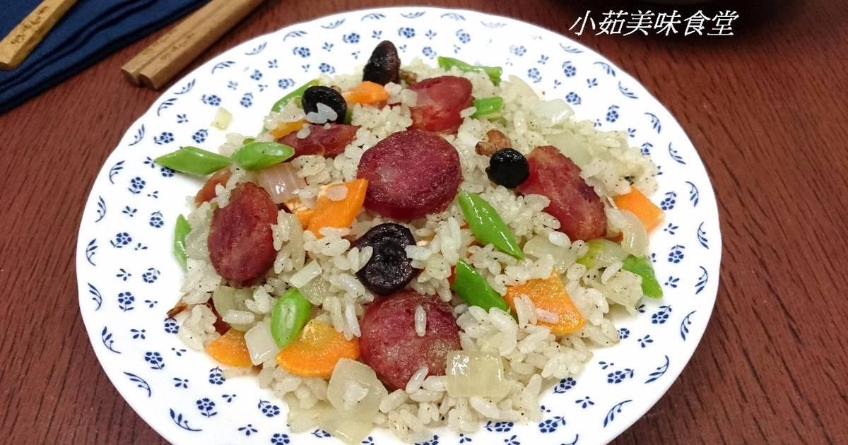 香腸炒飯食譜 by 小茹美味食堂 - Cookpad