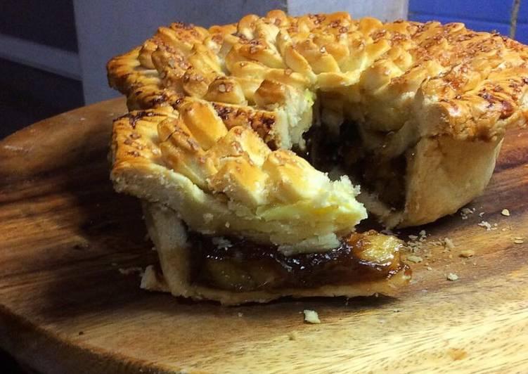 Decorative Apple pie