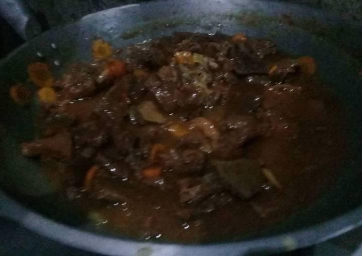 Beef Steak Filipino Style