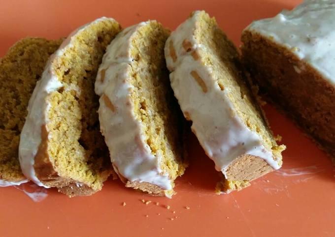 Vickys Oaty Pumpkin Loaf Cake, GF DF EF SF NF