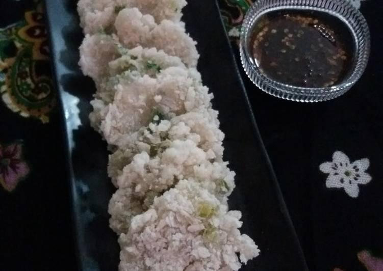 Cireng Salju Bumbu Rujak
