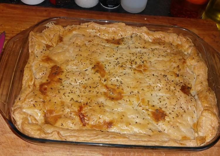 My sunday roast leftover pie