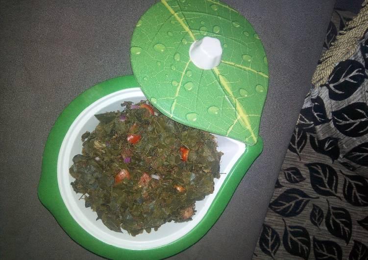Asille(Moringa salad)