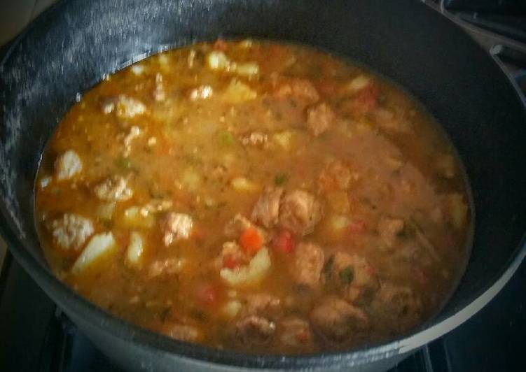 Southwest Beef and Sausage Chili Stew
