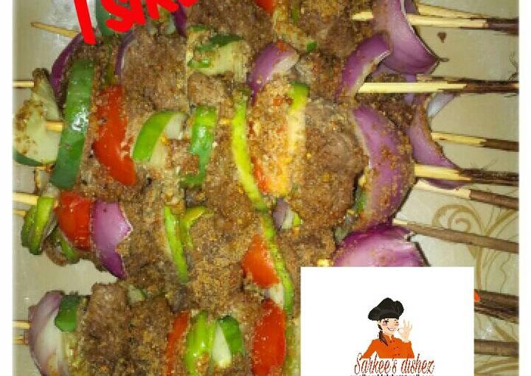 Tsire(beef kebab)