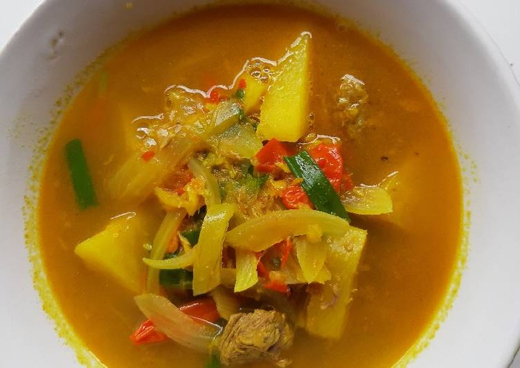 Daging Sapi Kuah Nanas
