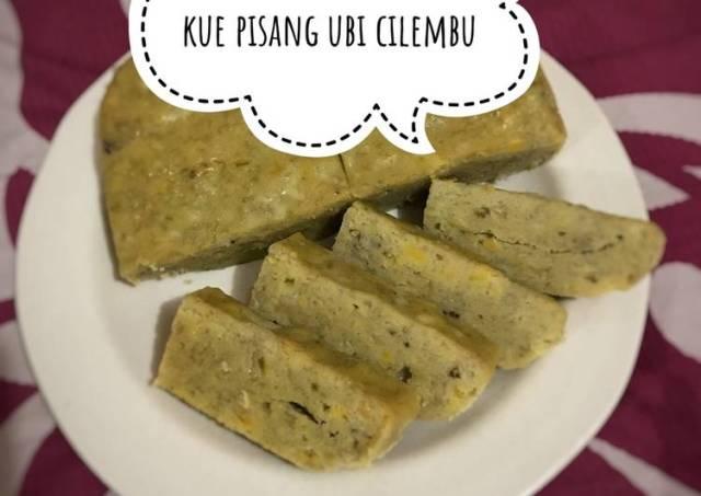 Kue pisang ubi cilembu kukus (no bs no bp no sugar)