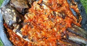 Ikan lele sambel pecak