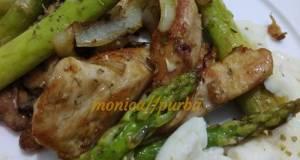 Ayam Tumis Asparagus