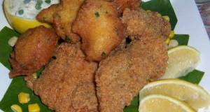 Southern Style Catfish With Jalapeño Hush Puppies