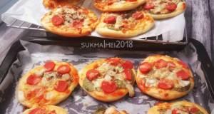 Pizza Mini Simple dan Empuk seninsemangat