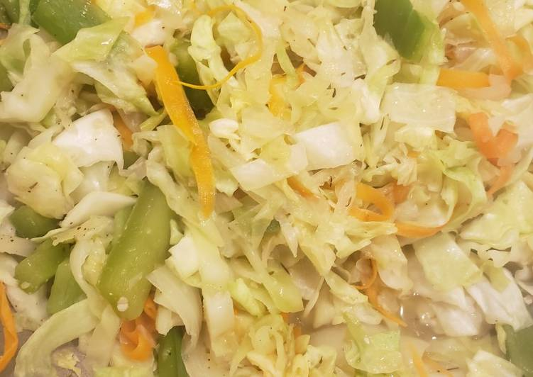 Jamaican Style Cabbage