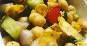 Crunchy Chic Pea Salad