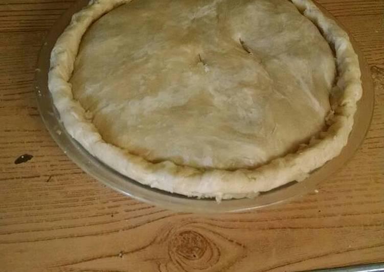 Oil pastry pie crust