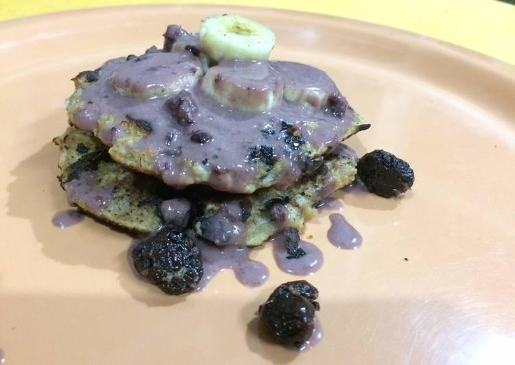 Oats Berry Pancakes - Vegan & Sugarless