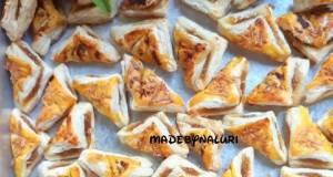 5020Puff Pastry isi Selai Nanas