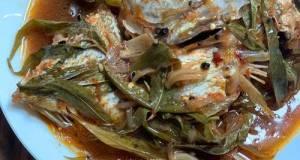 Asam Pedas Ikan Mudok