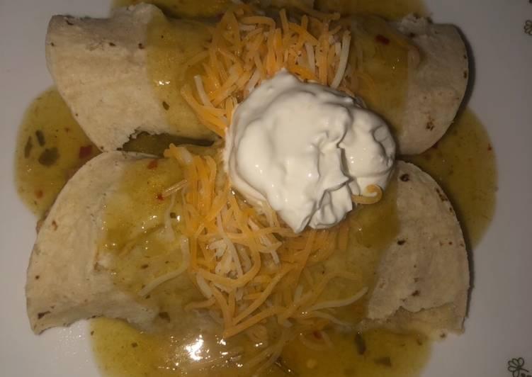 Tijuanas enchiladas