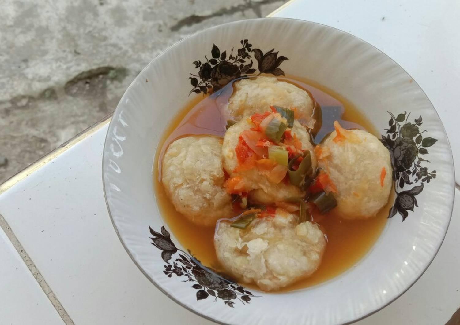 Resep Cireng Banyur Kuah Remas Nu