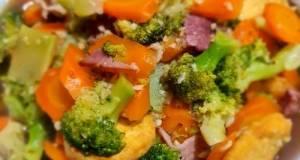 Brokoli cah Bacon