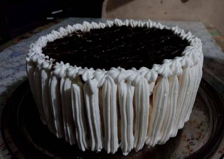 Icecream Cake using Pancake Mix