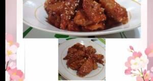 Spicy Wings Ala Ala Korea