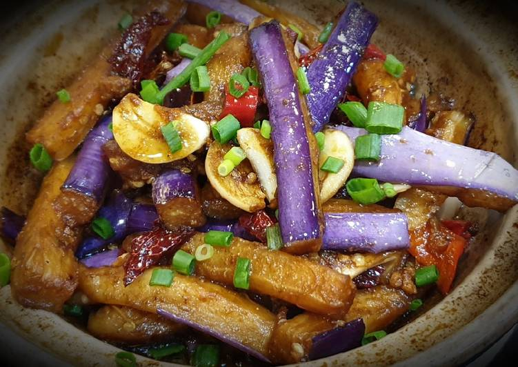 Brinjal with Salted Fish 咸鱼茄子