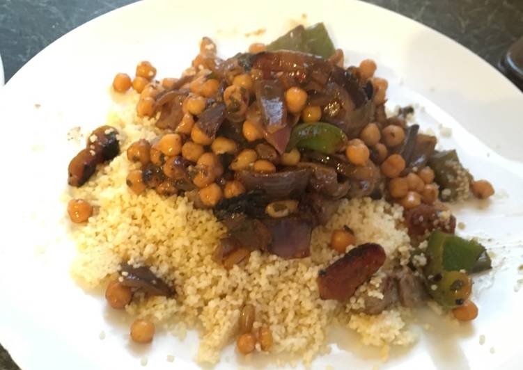 Moroccan Lamb with Cous-Cous