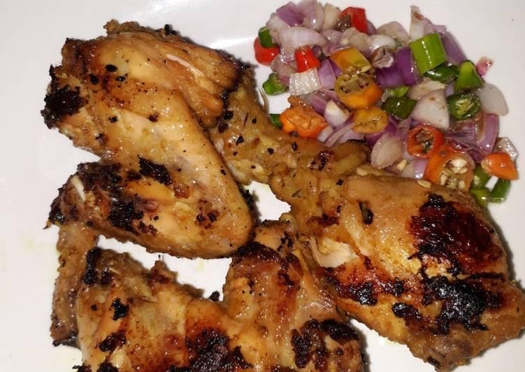 Ayam bakar taliwang (gulaputih)