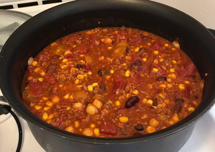 Soy Chorizo Chili (Vegetarian)