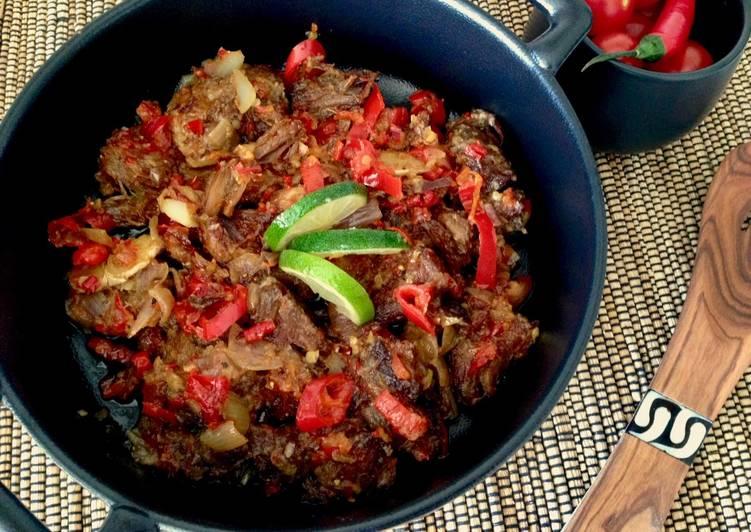 Dendeng Balado (reCook-Xander's Kitchen)