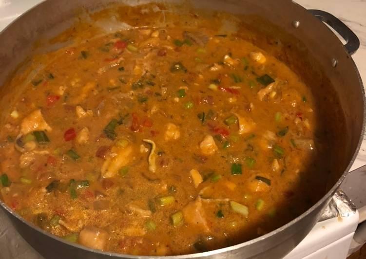 Catfish Stew or Étouffée (Louisiana style 🐊🦞)