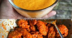 Spicy Chiken Wings With Cheese Sauce