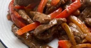 Stir fry beef with paprika (oriental style) simpel, lbh mudah dr yg kita bayangkan!