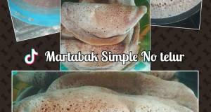 Martabak manis no telur