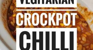 Crock-Pot Vegetarian Chili 🌶️🍲