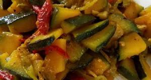 Braised Young Kabocha Squash 炒嫩南瓜