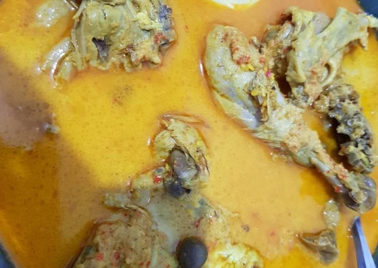 Gulai ayam Padang praktis