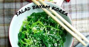 Salad Bayam Korea