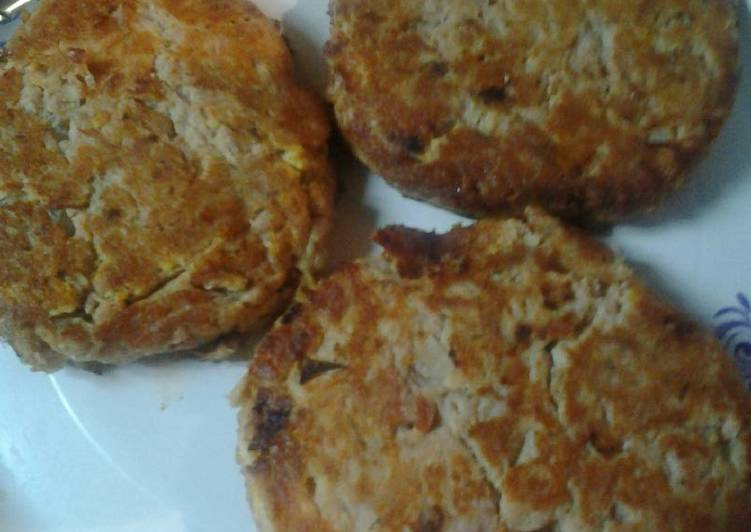 Full flavor Low carb tuna patties