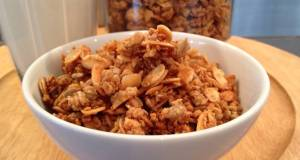 Maple and Almond Granola