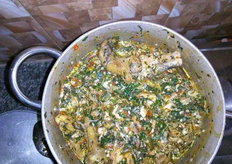Vegetable Okro soup