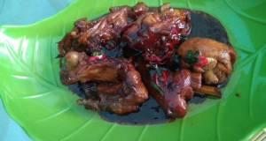 Ayam kecap saus tiram simple