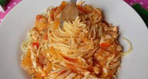 Spaghetti Bolognese With Chicken Breast