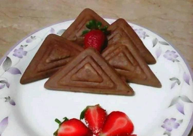 Sandwich Maker Mini Chocolate Cakes