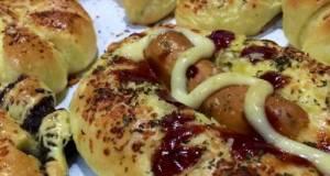 Roti Manis Rumahan / Donat Kampung kuning telur