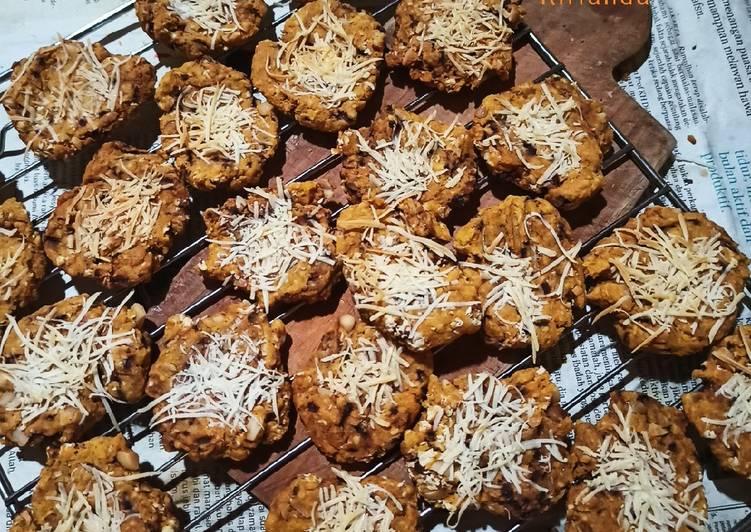 Carrot Oat Cookies #masihdalammenudiet