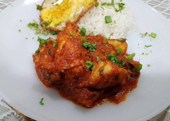 Thai Red Curry Chicken (Pad Prik/Paprik)