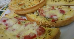 Garlic Bread Sosis Mayo
