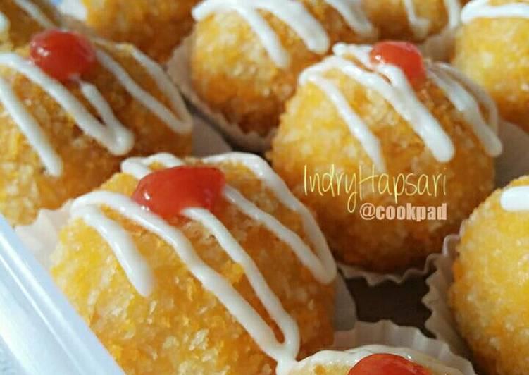 Bitterballen Macaroni Sosis Ayam Keju